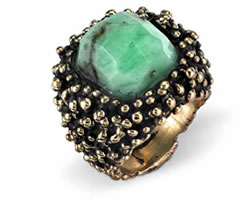 Pierre Ring Chrysoprase