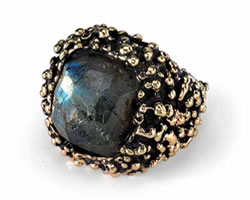 Pierre Ring Labradroite