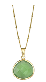 The Vert Collection Pendant Necklace