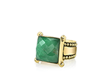 The VERT Collection Chloe Ring Chrysoprase