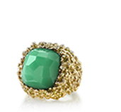 The VERT Collection Chrysoprase Ring